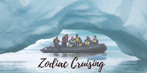 Zodiac cruising